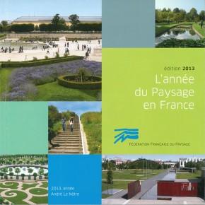 L'année du Paysage en France 2013