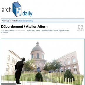 ArchDaily, juin 2010