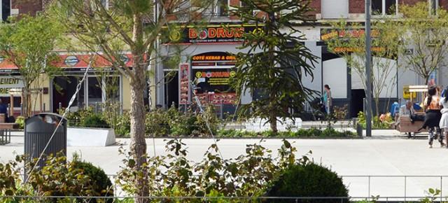 Place Fernig - Porte de Douai, Lille