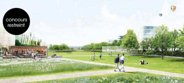 Parc de la ZAC Nouvelle Centralité, Carrières-sous-Poissy