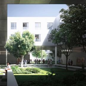 Résidence 1000 logements étudiants à Saclay
