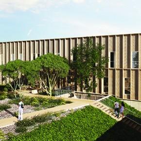 Jardin de l'institut EGID