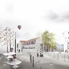 Place de la cité Lys, Lille