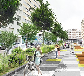 Piétonisation de trois rues de Lille